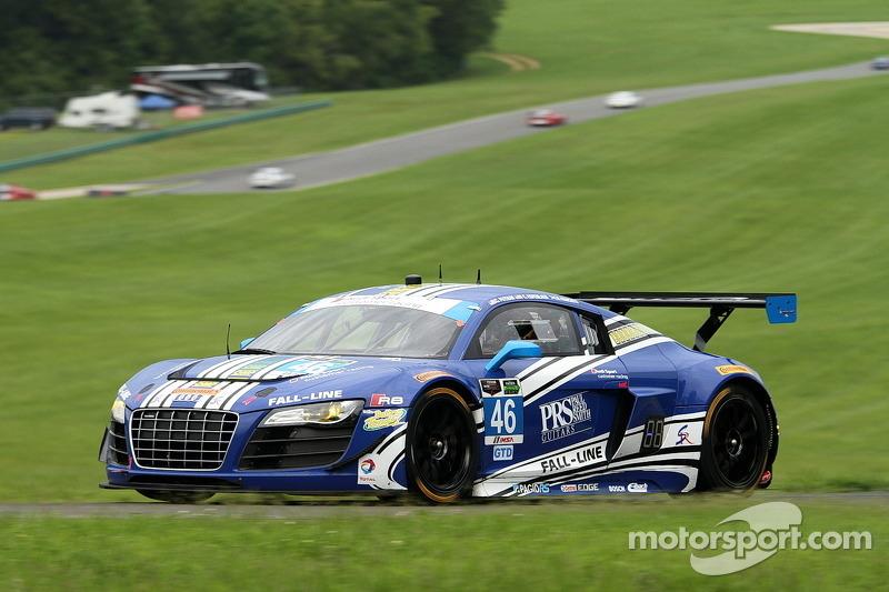 #46 Fall-Line Motorsports 奥迪 R8 LMS: 查尔斯·埃斯彭劳布, 查理·普特曼, 马里诺·弗兰奇蒂