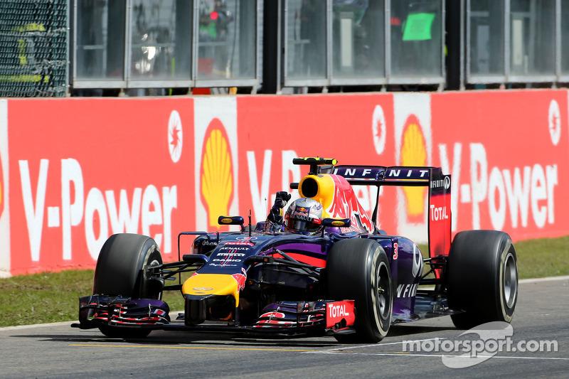 Daniel Ricciardo, Red Bull Racing takes the win