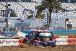 Пэт Моро. Серия GRC: Дайтона, первый субботний полуфинал Supercar.