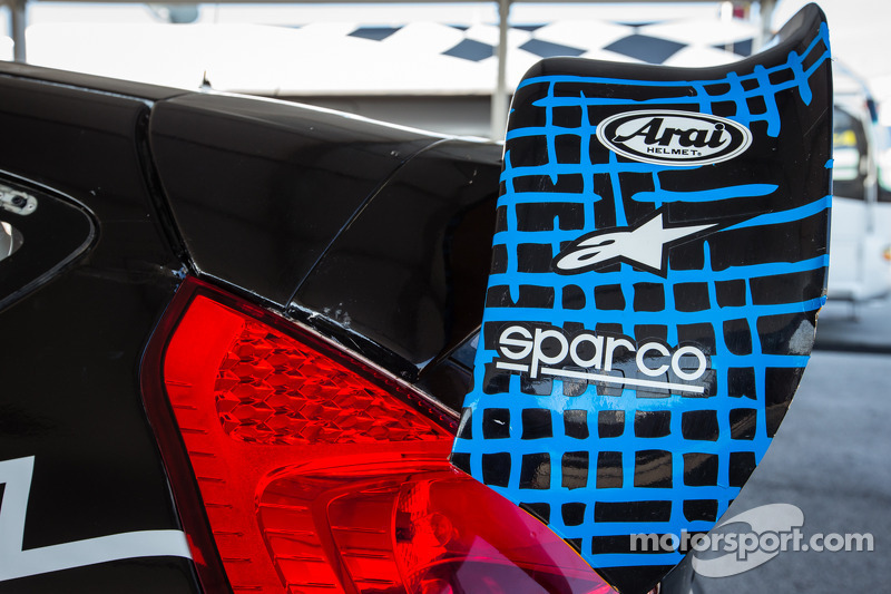 #14 Barracuda Racing 福特嘉年华 ST  的后扰流板