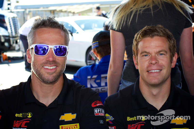 Geoff Reeves (a sinistra) e Andy Lee (a destra) da BestIT racing