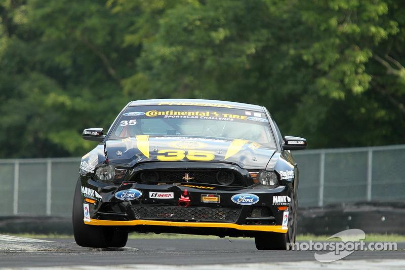 #35 Phoenix American Motorsports Ford Mustang 302R: Preston Calvert, Kurt Rezzantano