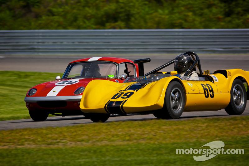 1964 Crusader Vee and 1965 Lotus 26R