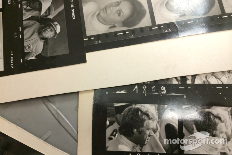 Filming of McQueen: The Man and Le Mans documentary
