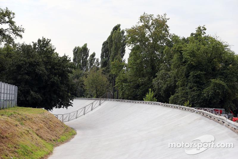 La vecchia banchina di Monza