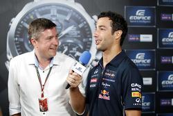 Casio Edifice Launch bij het Red Bull Energy Station, Daniel Ricciardo, Red Bull Racing