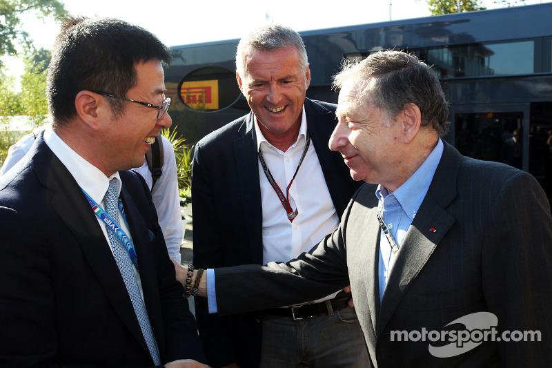 Marcello Lotti, Former WTCC General Manager, con Jean Todt, Presidente FIA