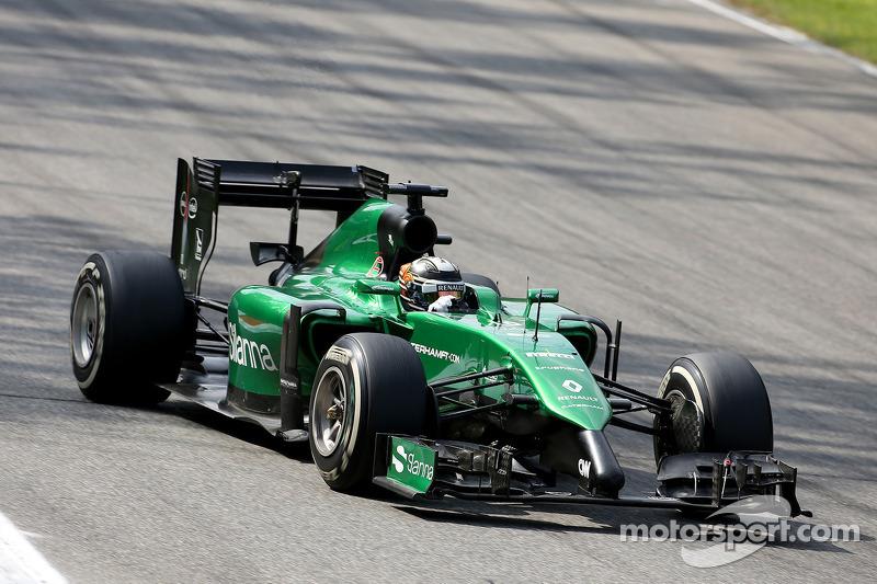 Kamui Kobayashi, Caterham F1 Team 07