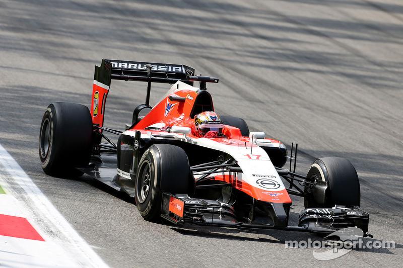 Jules Bianchi, Marussia F1 Team   07