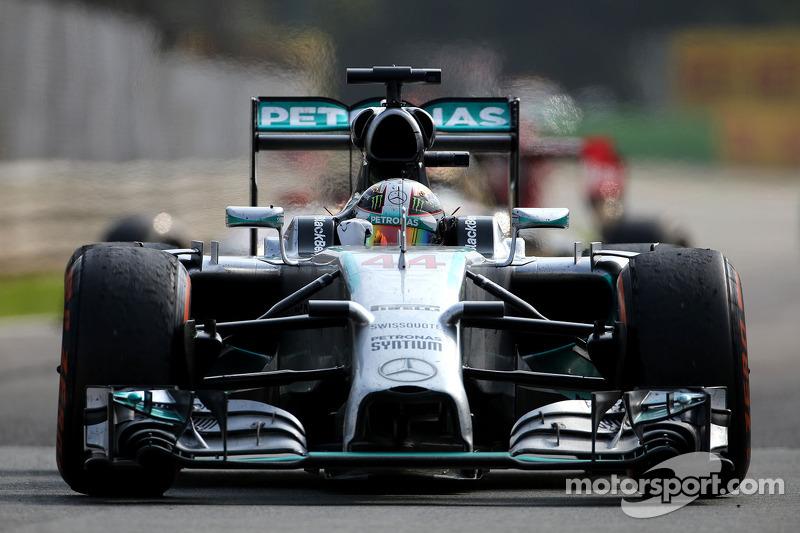 2014 Lewis Hamilton, Mercedes AMG F1 Team