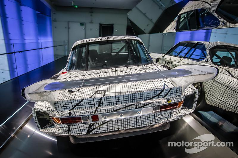 1976 BMW Art Car by Frank Stella that raced at Le Mans