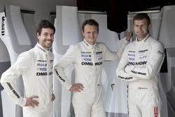 Frederic Makowiecki, Marc Lieb e Michael Christensen