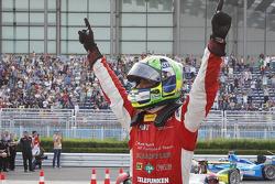 Лукас ди Грасси. Конфигурация трассы Формулы Э в Пекине, суббота, после гонки.