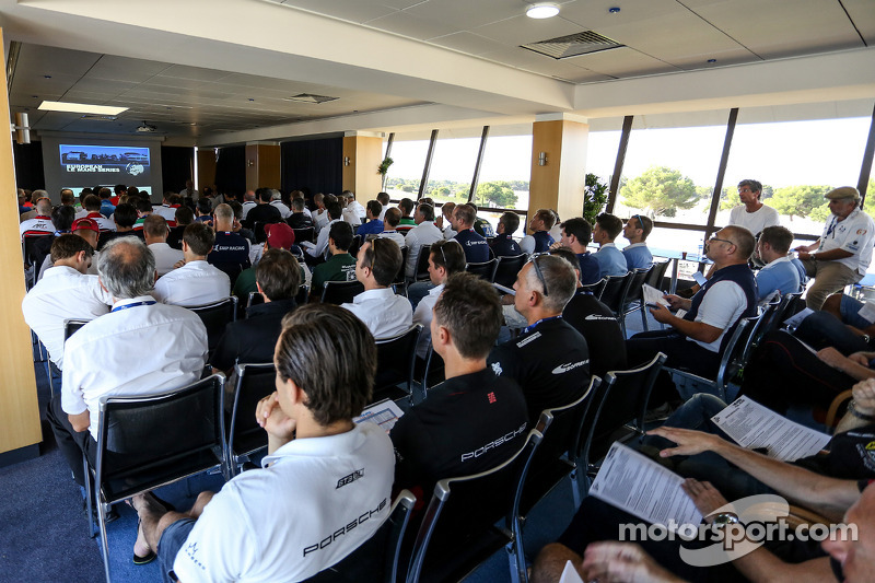Driver meeting