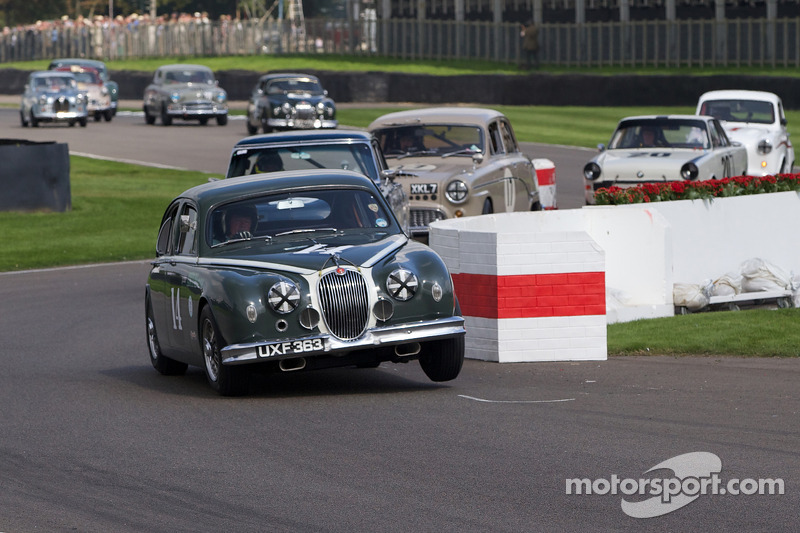 1959 Jaguar Mark I: Anthony Reid