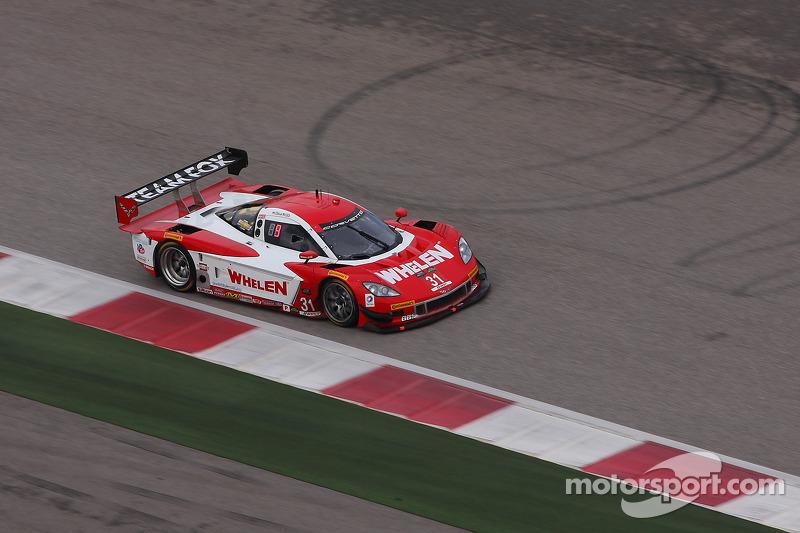 #31 Marsh Racing Corvette DP: Eric Curran, Boris Said