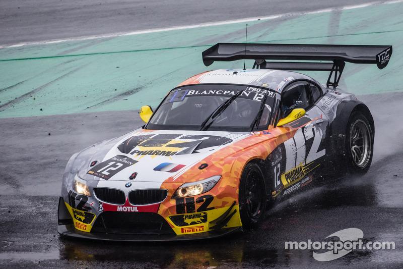 #12 TDS Racing BMW Z4: Henry Hassid, Nick Catsburg rodando, após perder o controle
