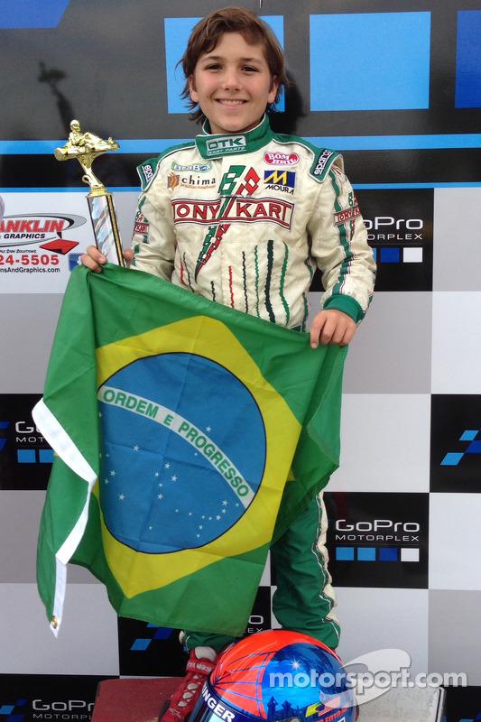 Vencedor Enzo Fittipaldi