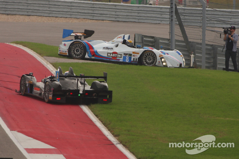 Problemi per # 8 Starworks Motorsport ORECA FLM09: Mirco Schultis, Renger van der Zande