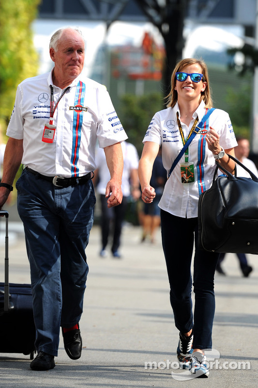 Edward Charlton, Williams Non-Executive Director, met Susie Wolff, Williams