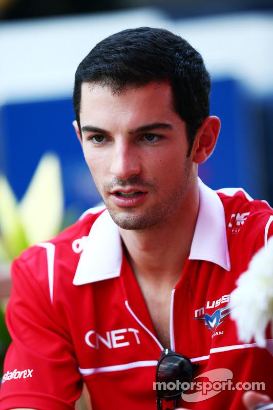 Alexander Rossi, piloto reserva da Marussia F1 Team