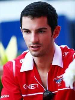 Alexander Rossi, Marussia F1 Takımı Reserve Dr. Vijay Malyaiver