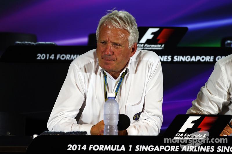 Charlie Whiting, FIA Delegesi FIA Basın Konferansı'nda