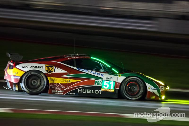 #51 AF Corse 法拉利 458 Italia: 吉安玛利亚·布鲁尼, 托尼·维兰德