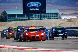 #41 Go 4 It Racing Pontiac Solstice GXP: Michael Pettiford