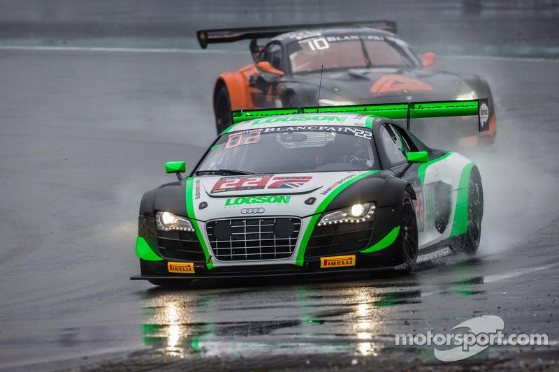 #22 Team Parker Racing 奥迪 R8 LMS Ultra: 伊恩·洛吉, 朱利安·韦斯特伍德