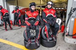Belgian Audi Club Team WRT : avant un pit stop