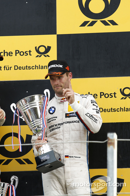 Terceiro colocado, Martin Tomczyk, BMW Team Schnitzer BMW M4 DTM