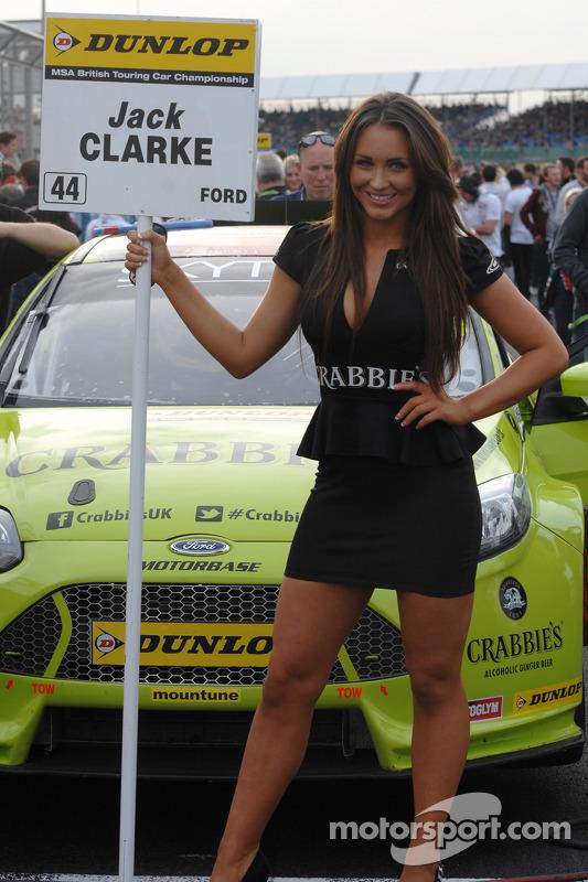 Crabbie'nin Racing grid kızı