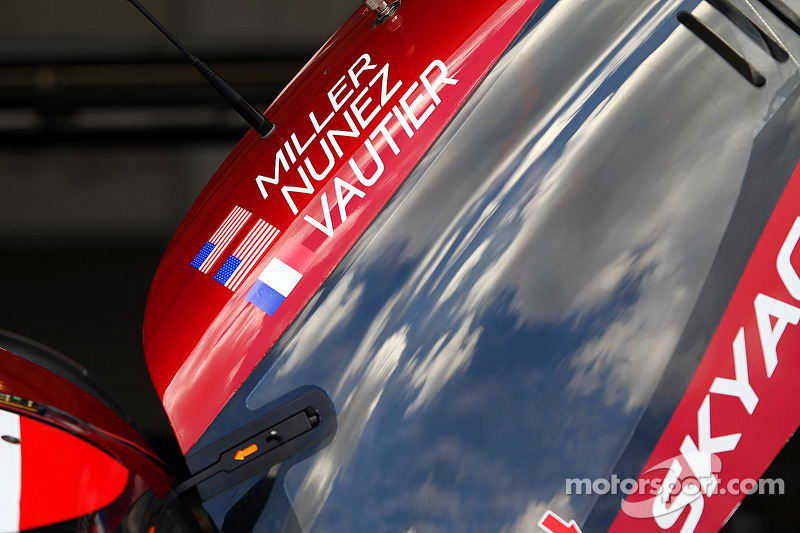 #07 SpeedSource Mazda Prototype