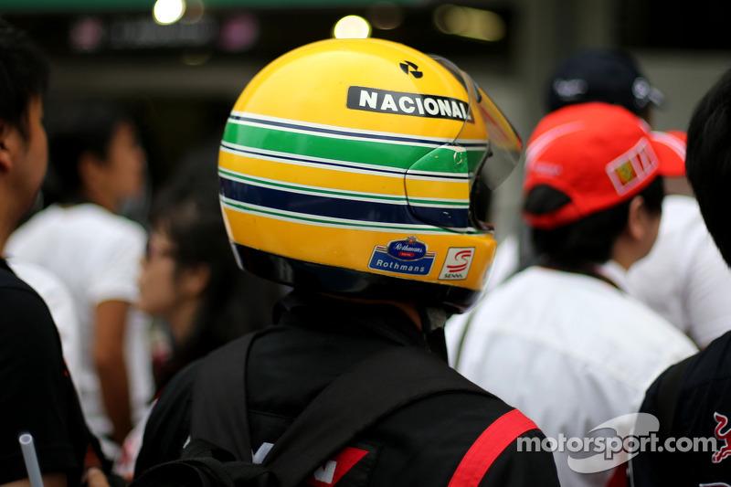 Fan of Ayrton Senna