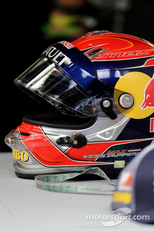 Casco di Max Verstappen, Scuderia Toro Rosso