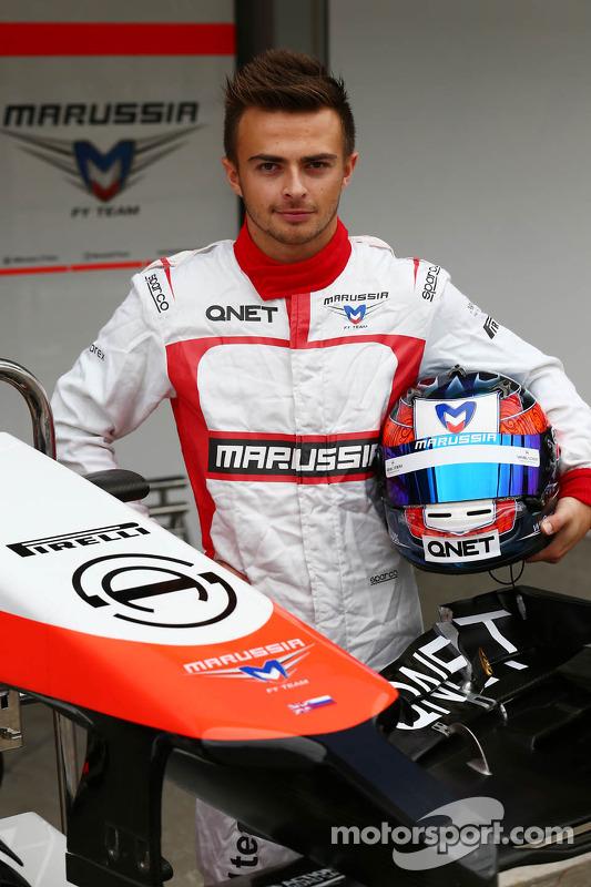 Will Stevens, Marussia F1 Team piloto reserva