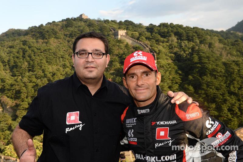 Dominik Greiner, Team Principal, ALL-INKL_COM Münnich Motorsport, Gianni Morbidelli, Chevrolet RML Cruze TC1, ALL-INKL_COM Münnich Motorsport