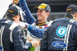 Comemoração com champagne