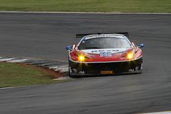 #555 AIM Autosport 法拉利 458 Italia: 比尔·斯威德勒, 汤森·贝尔, 康拉德·格鲁内瓦尔德