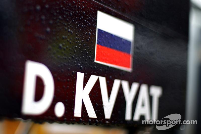 Corrida na chuva, Daniil Kvyat, Scuderia Toro Rosso