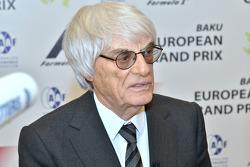 Bernie Ecclestone, CEO de F1