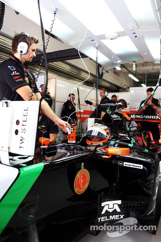 Nico Hulkenberg, Sahara Force India F1 VJM07