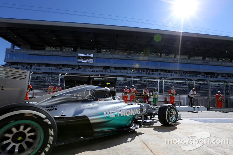 Nico Rosberg, da Mercedes AMG F1 Team 11