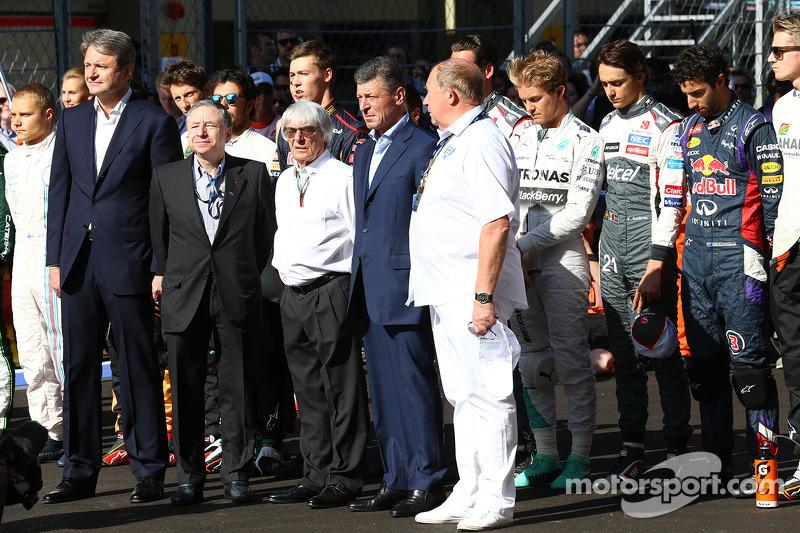 Un minuto di silenzio per rispettare Jules Bianchi, Marussia F1 Team MR03