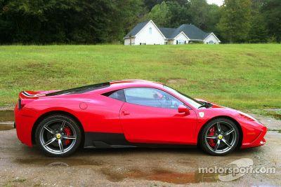 Ferrari 458 Italia Speciale testrit