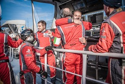Sebastien Loeb Racing Team Celebrating