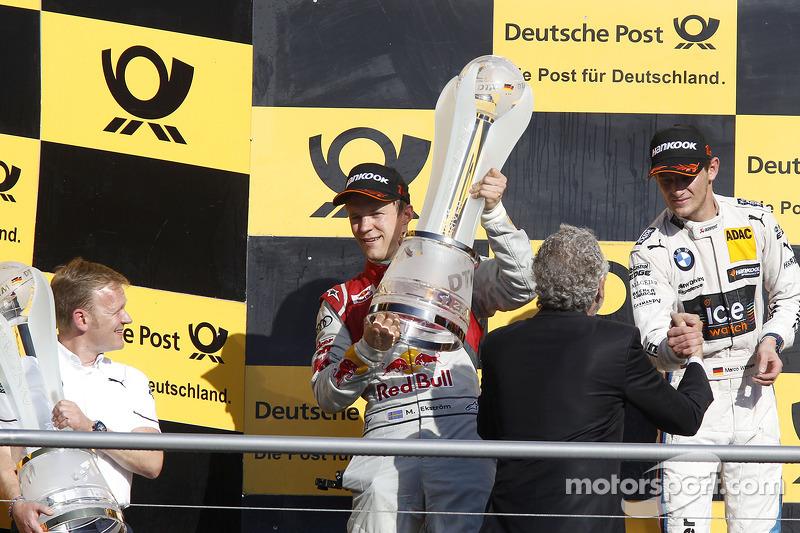 Şampiyona Podyumu, İkinci Mattias Ekstrom, Audi Sport Takımı Abt Sportsline, Audi A5 DTM