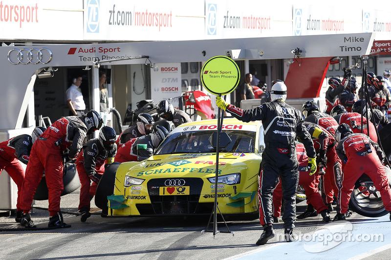 Parada en pits de, Mike Rockenfeller, Audi Sport Team Phoenix Audi RS 5 DTM