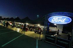 Área del equipo Ford